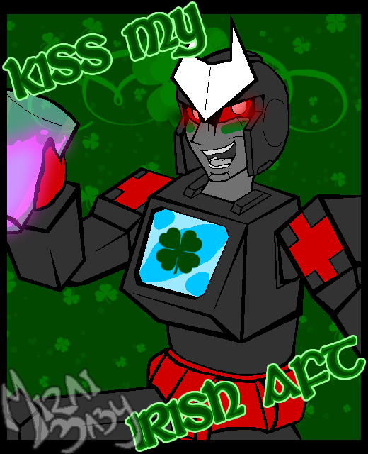 Kiss My Irish Aft by miraibaby