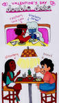 Valentine's double date with Gems