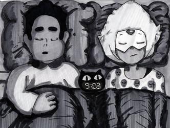 Sleeping Gems: Peridot by swankivy