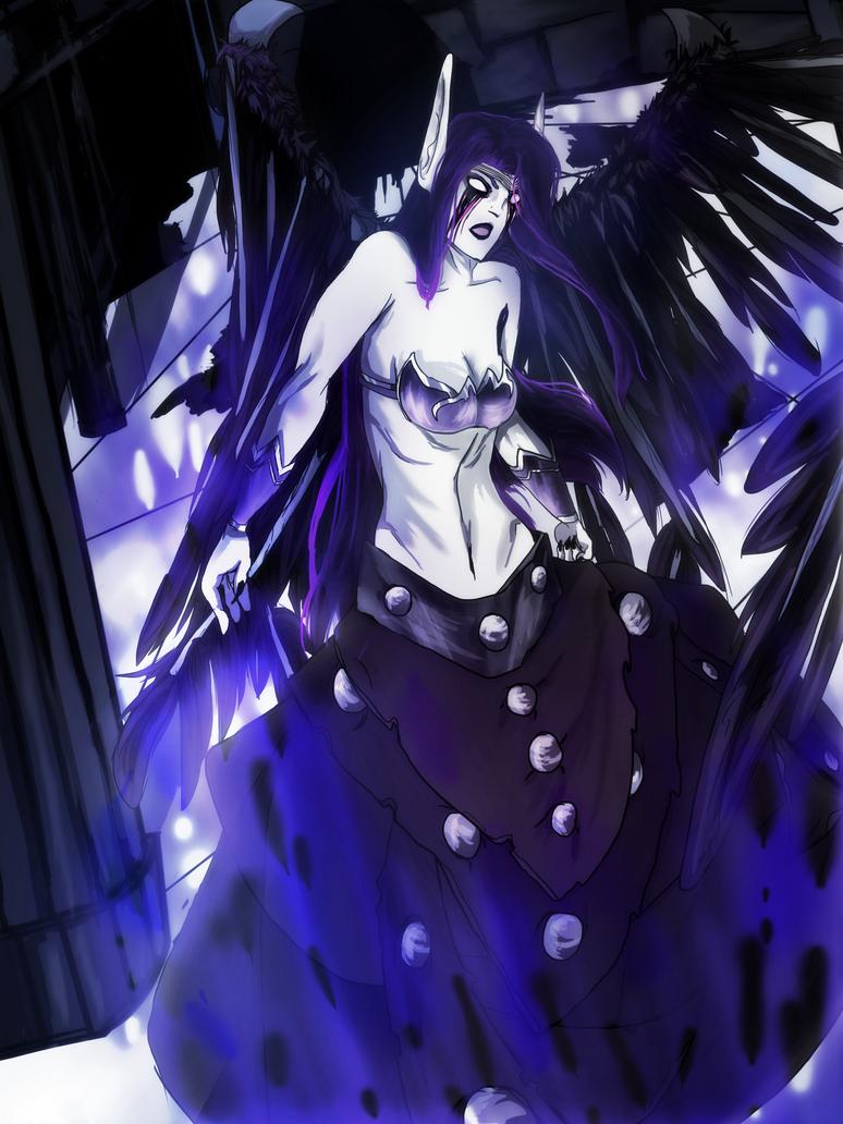 The Fallen Angel - League of Legends by InSolem