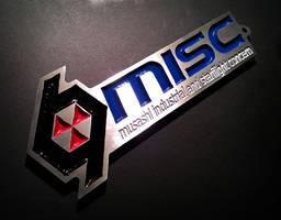MISC Emblem/Keychain from Star Citizen