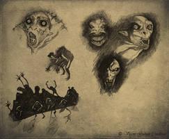 Don't be afraid of the dark by LASILFIDEOSCURA