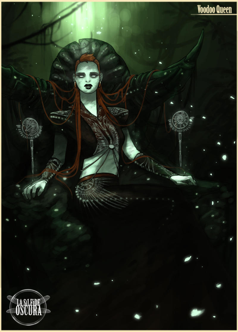 Voodoo Queen by RoCueto on deviantART |Voodoo Queen Art