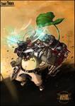 Cyber Totoro by LASILFIDEOSCURA