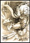 Batman fanart by LASILFIDEOSCURA