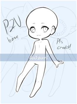 P2U Chibi Base -200 points / $2 usd-