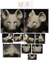 Mouse half mask by MissRaptor