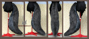 Huge wolf tail