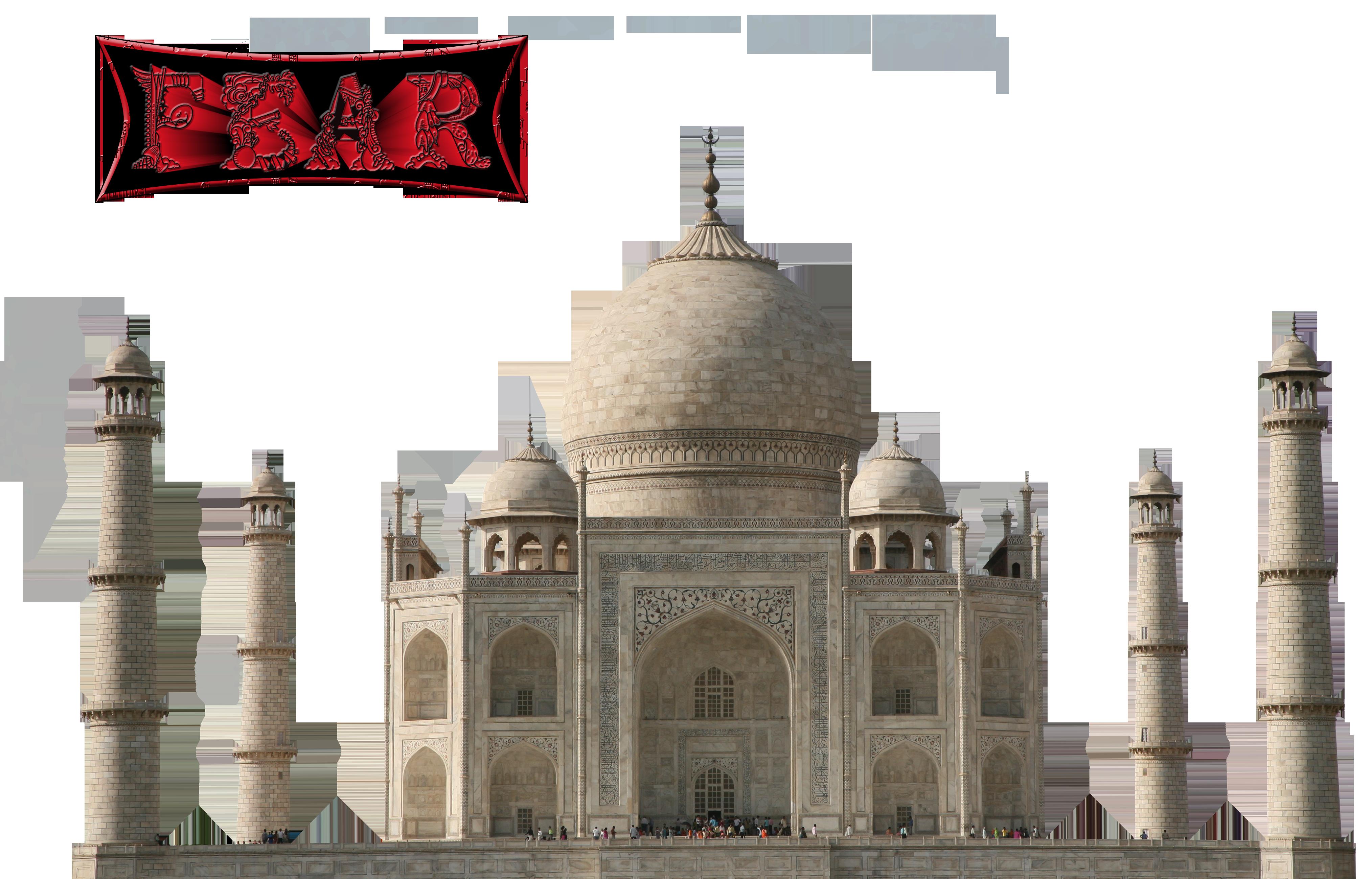 Taj-Mahal PNG by fear-25