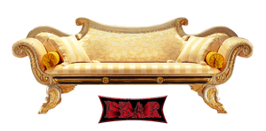 Sofa PNG by fear-25