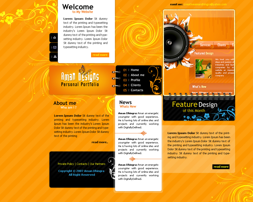 Aman Design Studio by amandhingra