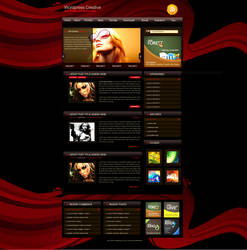 free theme- Wordpress Creative