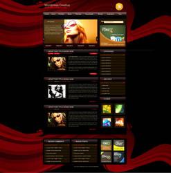 free theme- Wordpress Creative by amandhingra