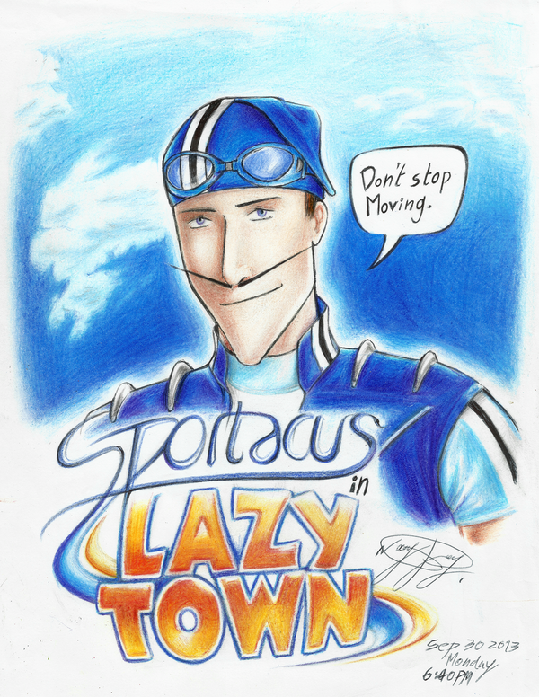 Lazy Town Sportacus Saves The Toys 5