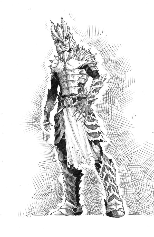Dragon Armor by coyotie on DeviantArt