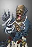 Lycanthropic Monk