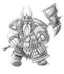 Dwarf Warpriest