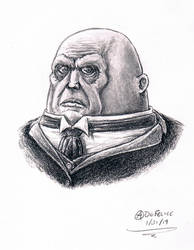 Strax sketch by AndrewDeFelice