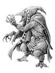 Zavattari, Kenku Sorcerer by AndrewDeFelice