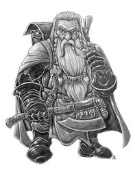 Dwarf Cleric by AndrewDeFelice
