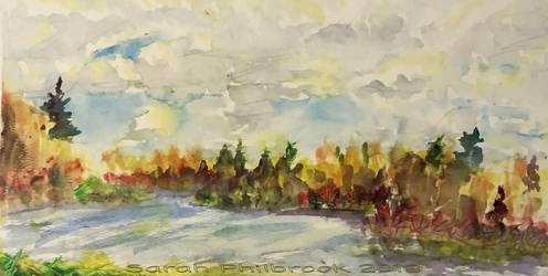 oldie: quick paint lake