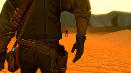 Duel in Desert by Zufeng