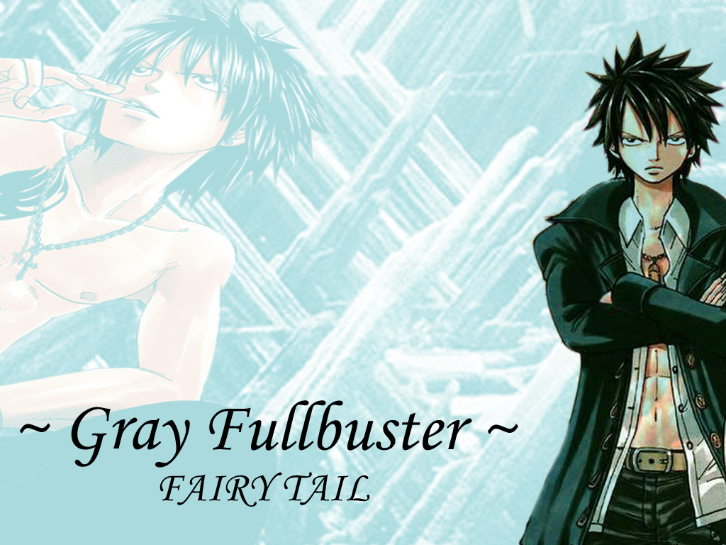 Fairy Tail Gray Wallpaper Fairy Tail - Gray by