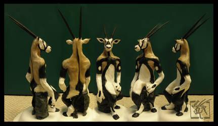 Khaska Sculpture by Toledo-the-Horse