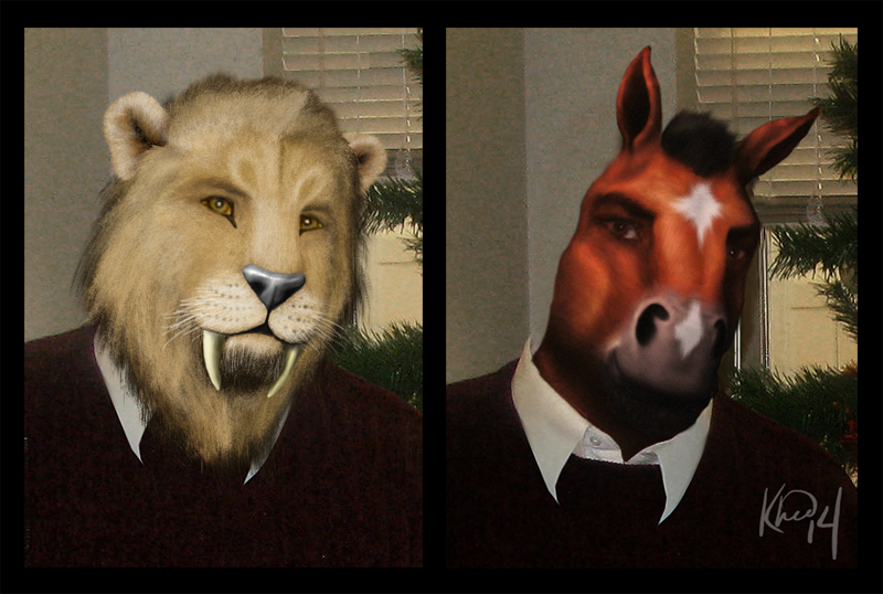 Tigerboyjayce Portrait Commissions by Khedvu