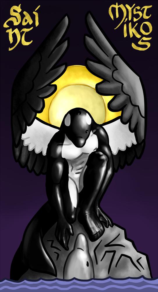 Saint Mystic (Commission) by Khedvu
