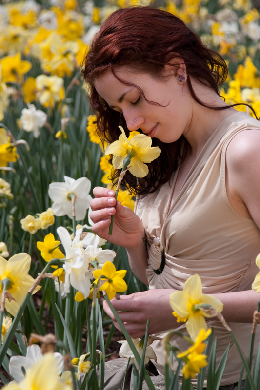 Flower Goddess by LuneFeu