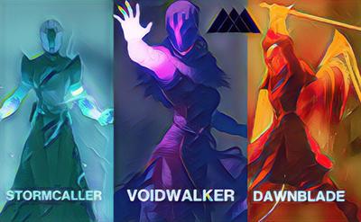 Destiny Warlock By BenTheBird