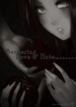 Bordering Love and Hate Doujinshi: [Cover/Summary]