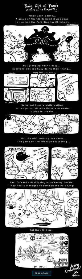 Daily Life of A Poro