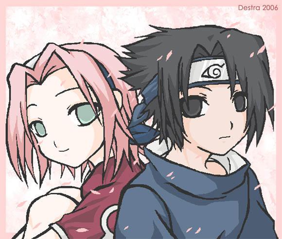 DeviantArt: More Like Sasuke y Sakura Uchiha by Nataly-B
