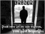 Eminem Beautiful Desktop BG