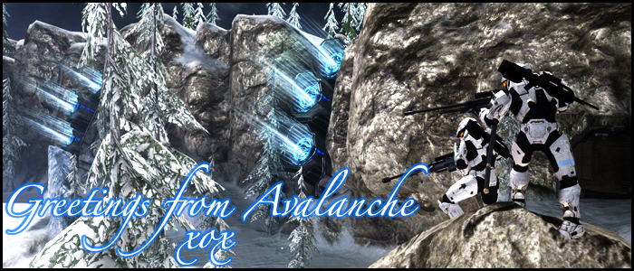 Avalanche Postcard. by rockinpunk182