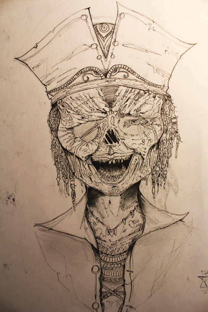 zombie pirate by OrionSonArt