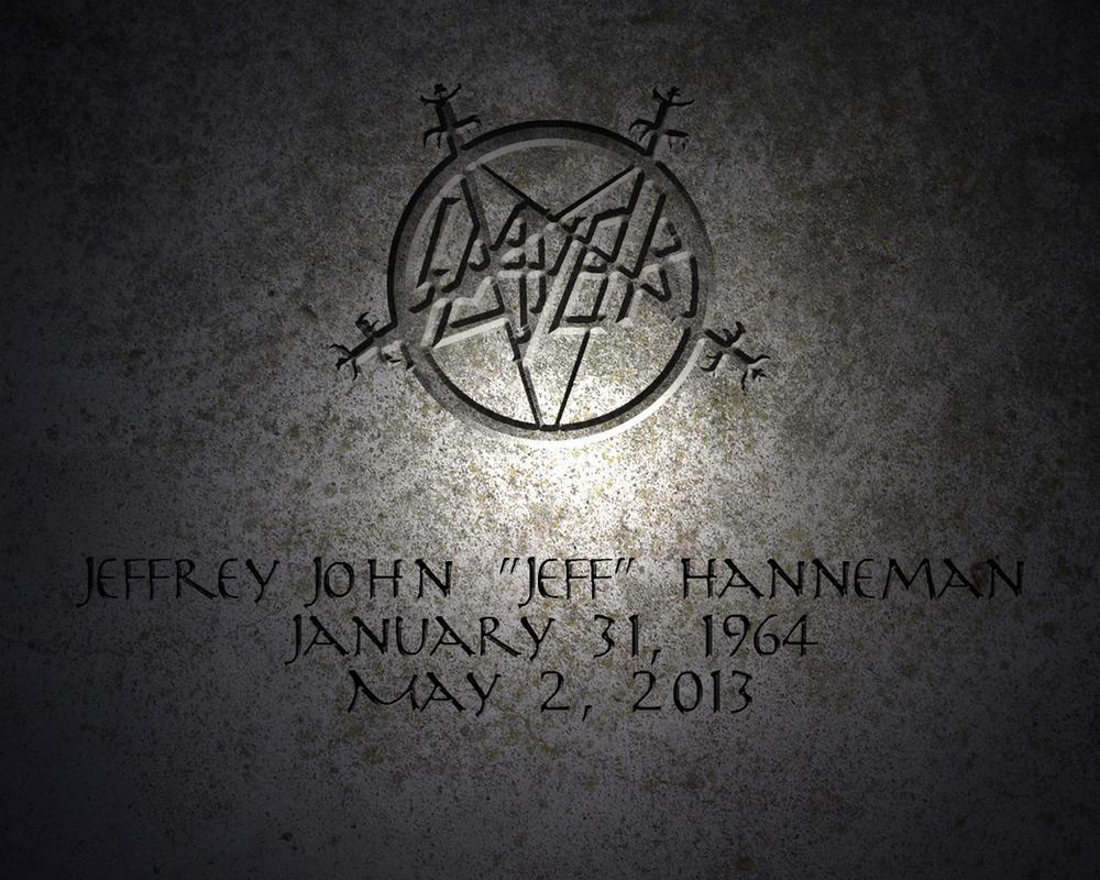 Jeff Hanneman Rip Wallpaper Jeff hanneman by eccer86