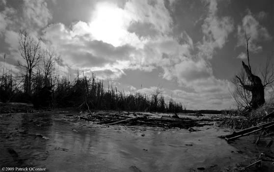 Cherokee marsh panoramic