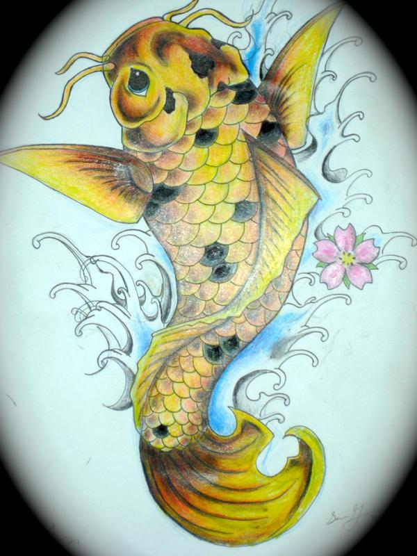 21 Koi Fish Tattoo Designs Ideas: Koi Fish Tattoo Design 2 By Magicmufinelf On DeviantArt