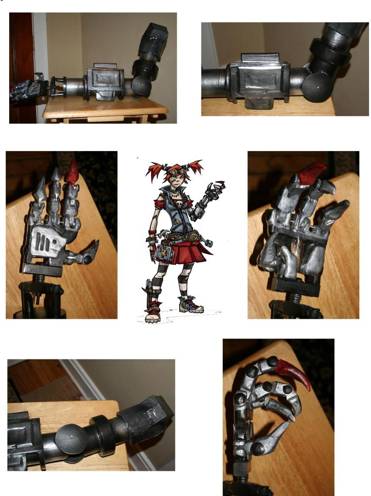 Borderlands 2 Gaige's Mechanical Arm Prop by tn-scotsman on