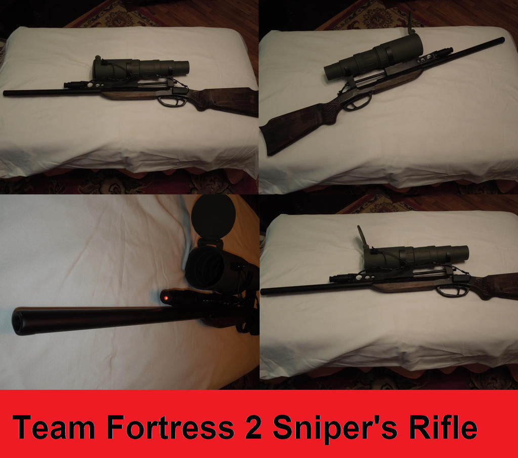 Team Fortress 2 Sniper's Rifle by tn-scotsman
