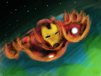 Iron Man by R-McC