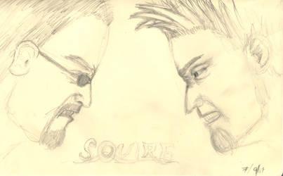 Squire vs. Brad by R-McC