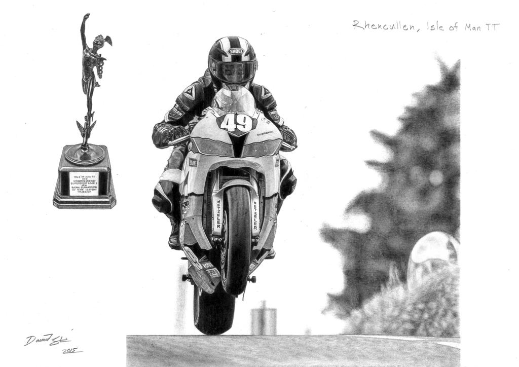 Bjorn Gunnarsson Isle of Man TT by DSL-FZR