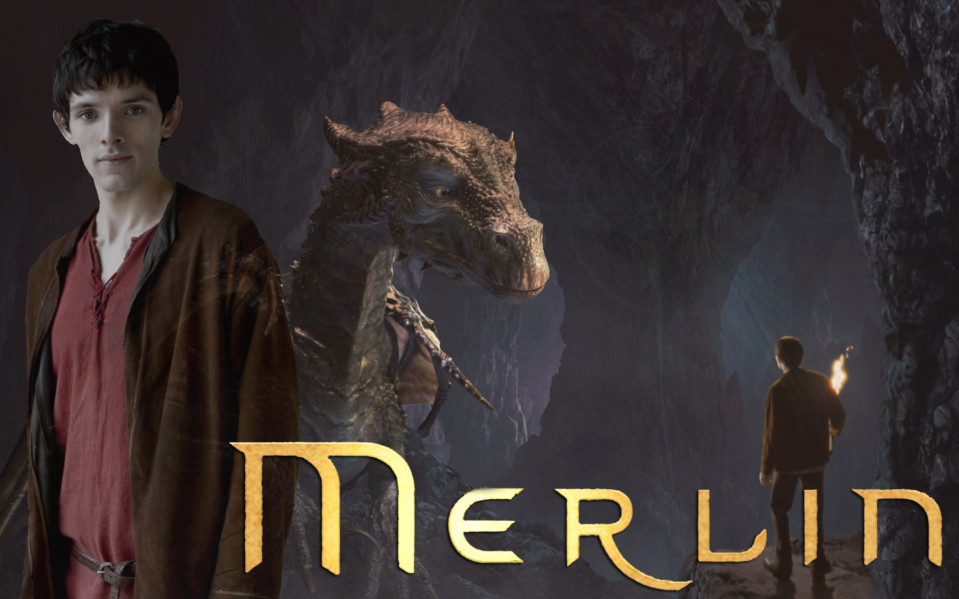 Merlin Dragon: Merlin The Dragon's Cave By PirateFairy On DeviantArt