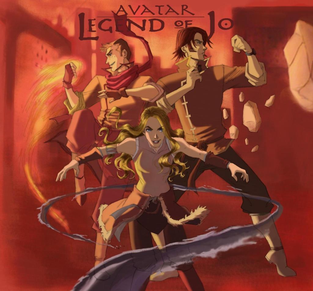 Avatar: Legend of Jo by greenapplefreak