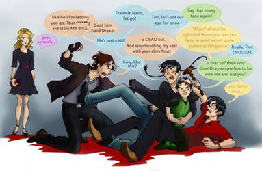 the war of the robins by greenapplefreak