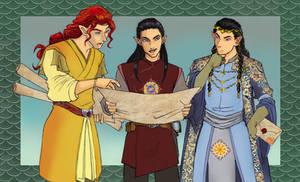 three Finwes